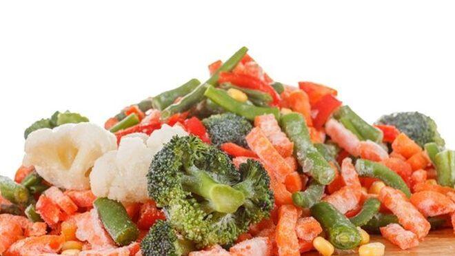 El mercado de verduras congeladas sigue al alza