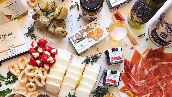 Vino y jamón, estrellas de la venta online gourmet