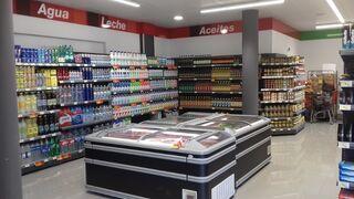 Interior del supermercado Covirán Bellavista