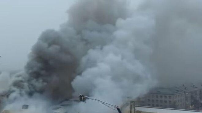 Tragedia en un centro comercial del este de Rusia