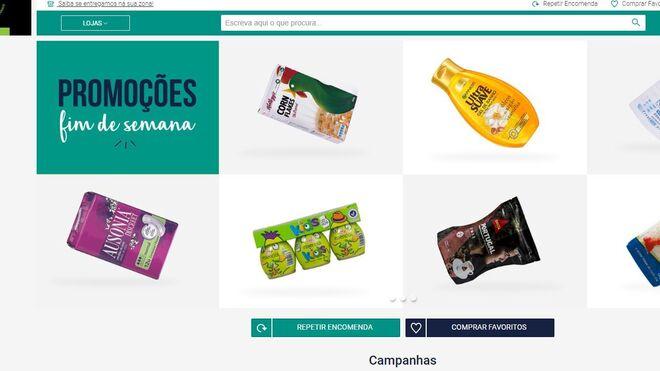 La Mercadona de Portugal vuelve al mundo online