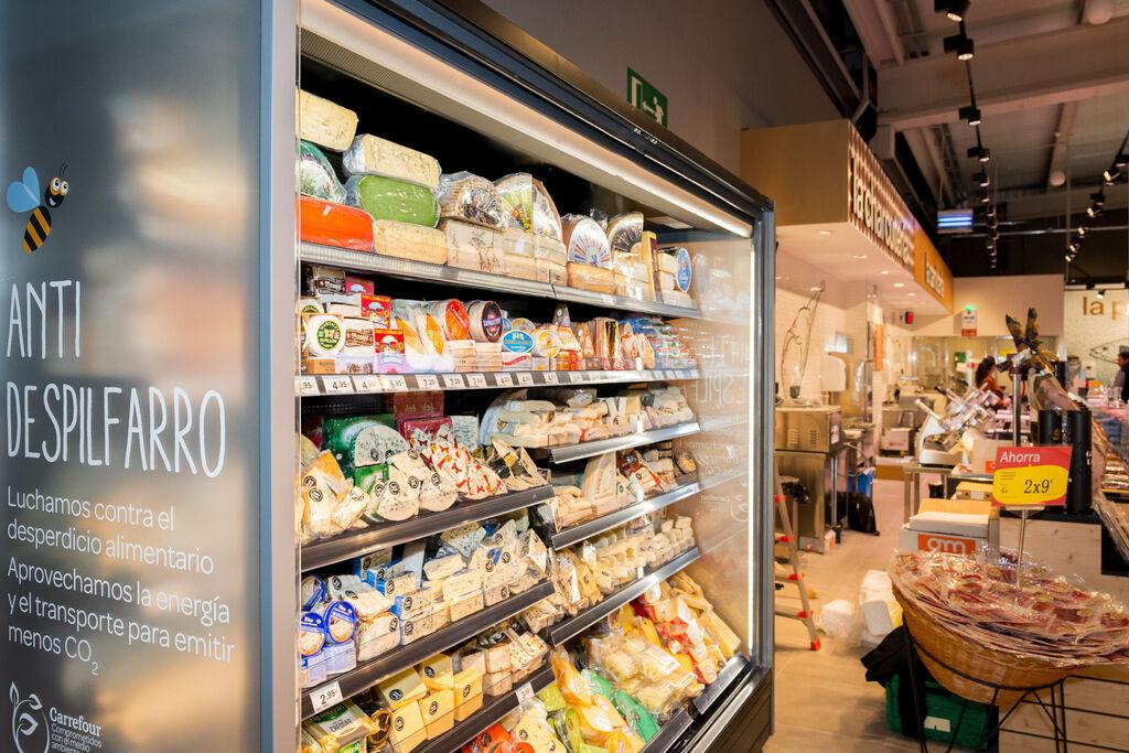 Carrefour Market premium lucha contra el despilfarro de energía
