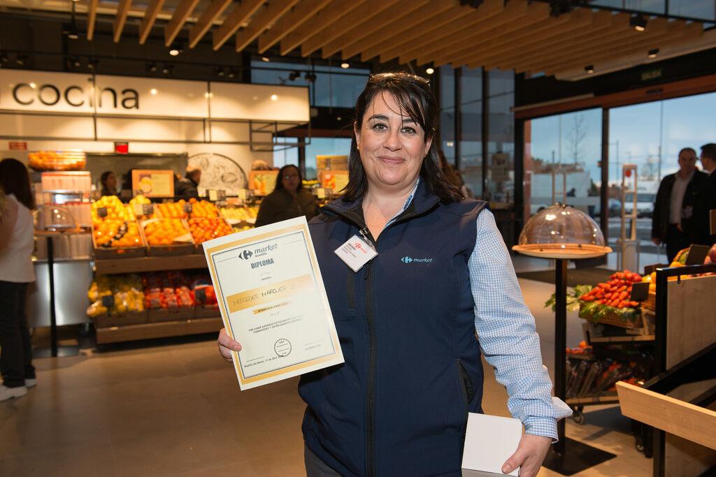 Carrefour ha invertido más de 5.000 horas de formación en cursos específicos como enología, producto gourmet o calidad para sus empleados de Boadilla