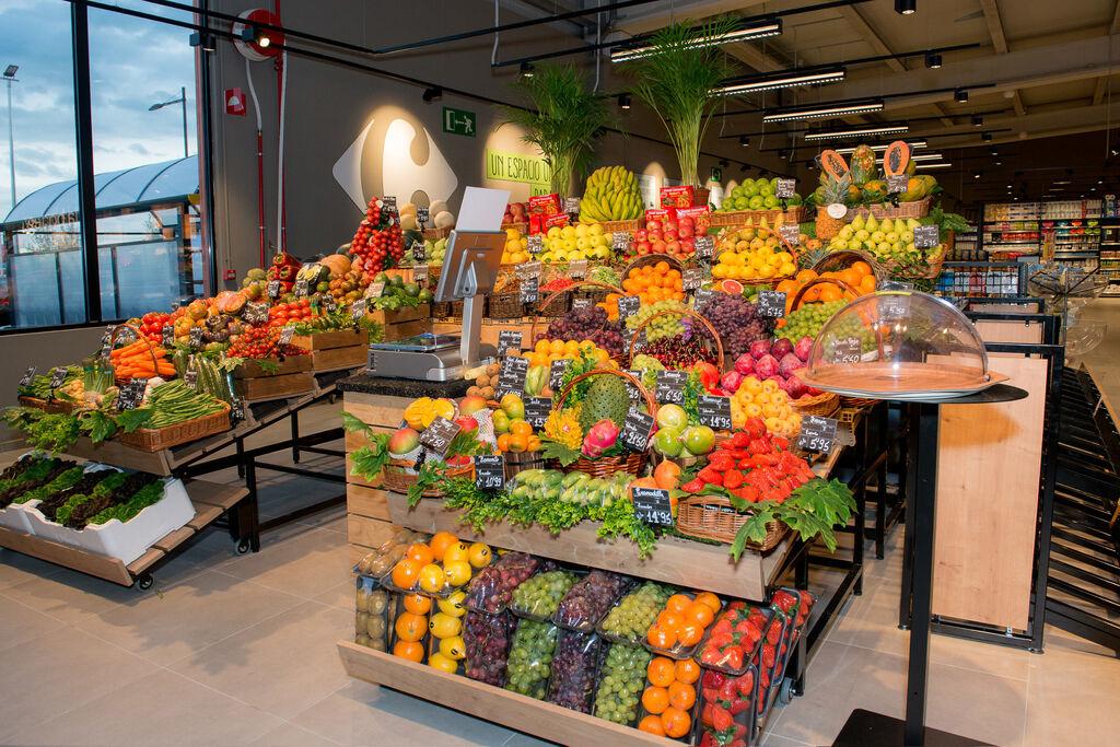 Los Market premium de Carrefour hacen lucir las frutas y las verduras