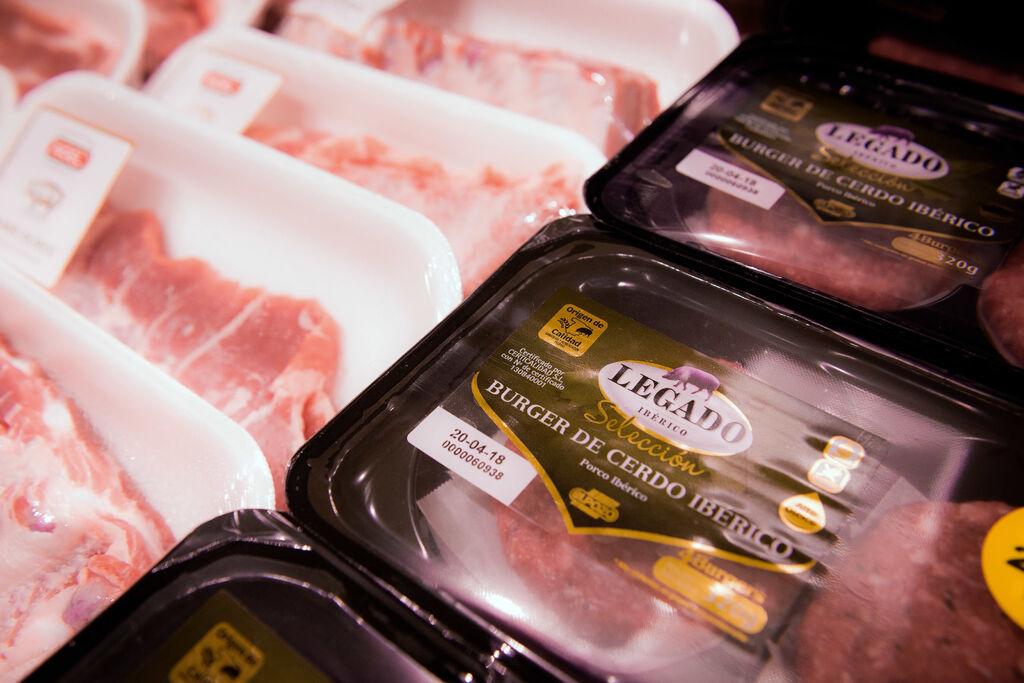 Selección de carnes de origen nacional e internacional