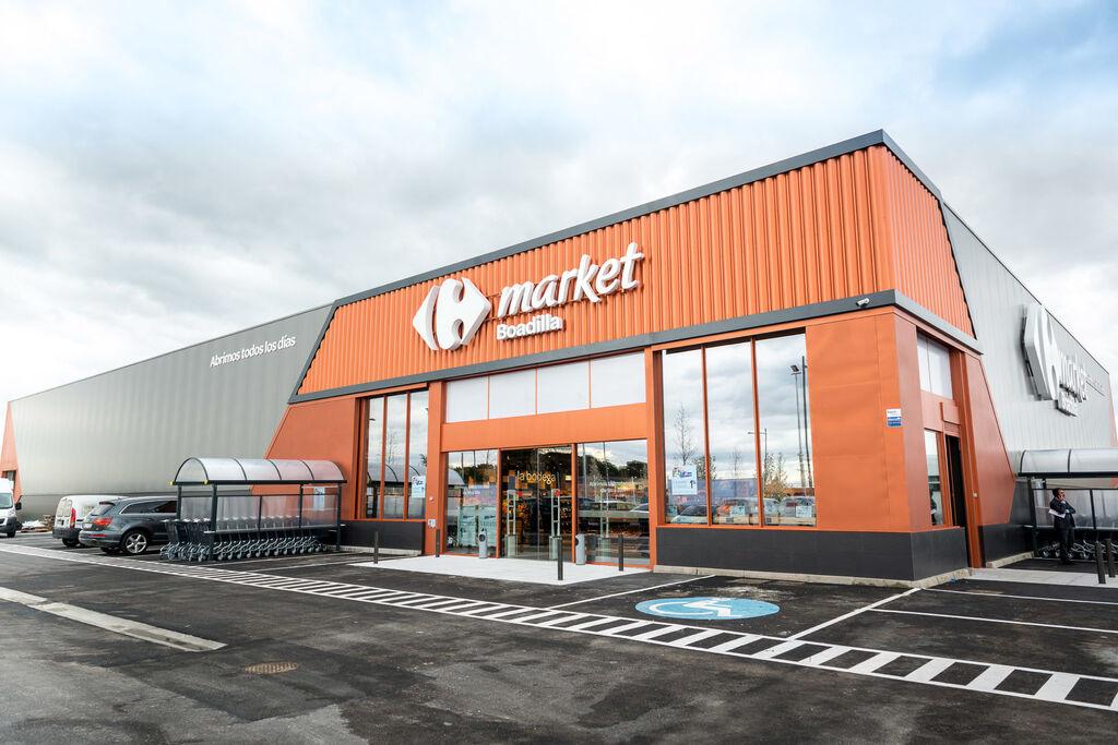 Así luce el nuevo Carrefour Market premium de Boadilla