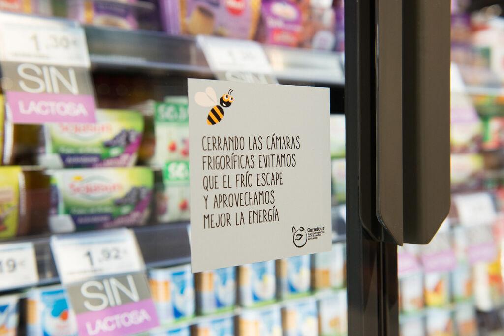 El supermercado dispone de nuevo mobiliario de frío que no desperdicia energía