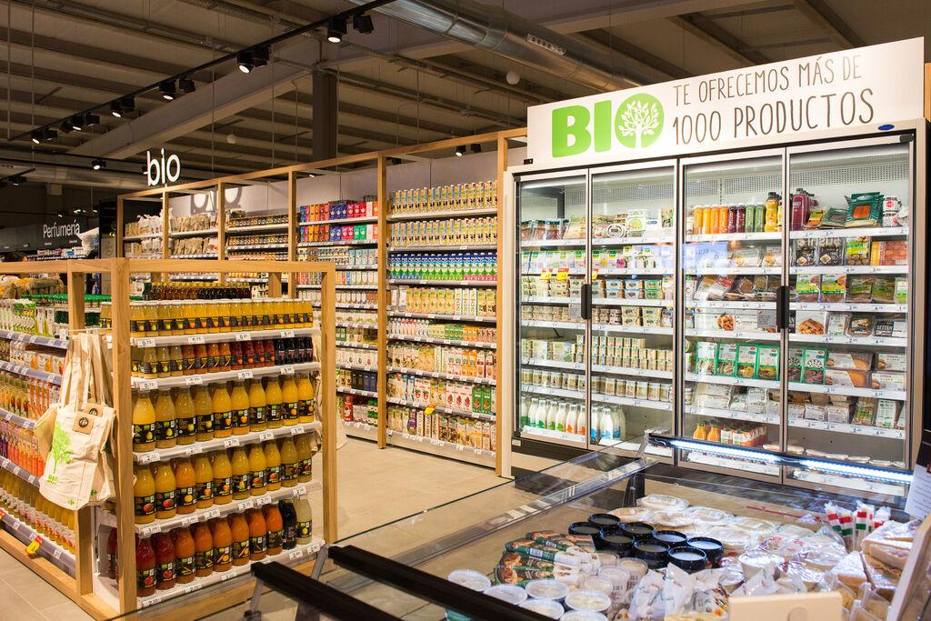 En la zona Bio se pueden encontrar más de 1.000 productos