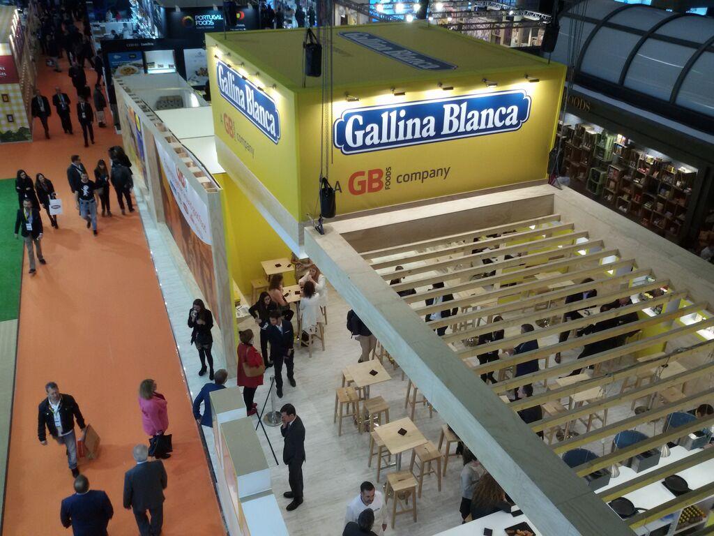 Gallina Blanca, con uno de los stands más grandes