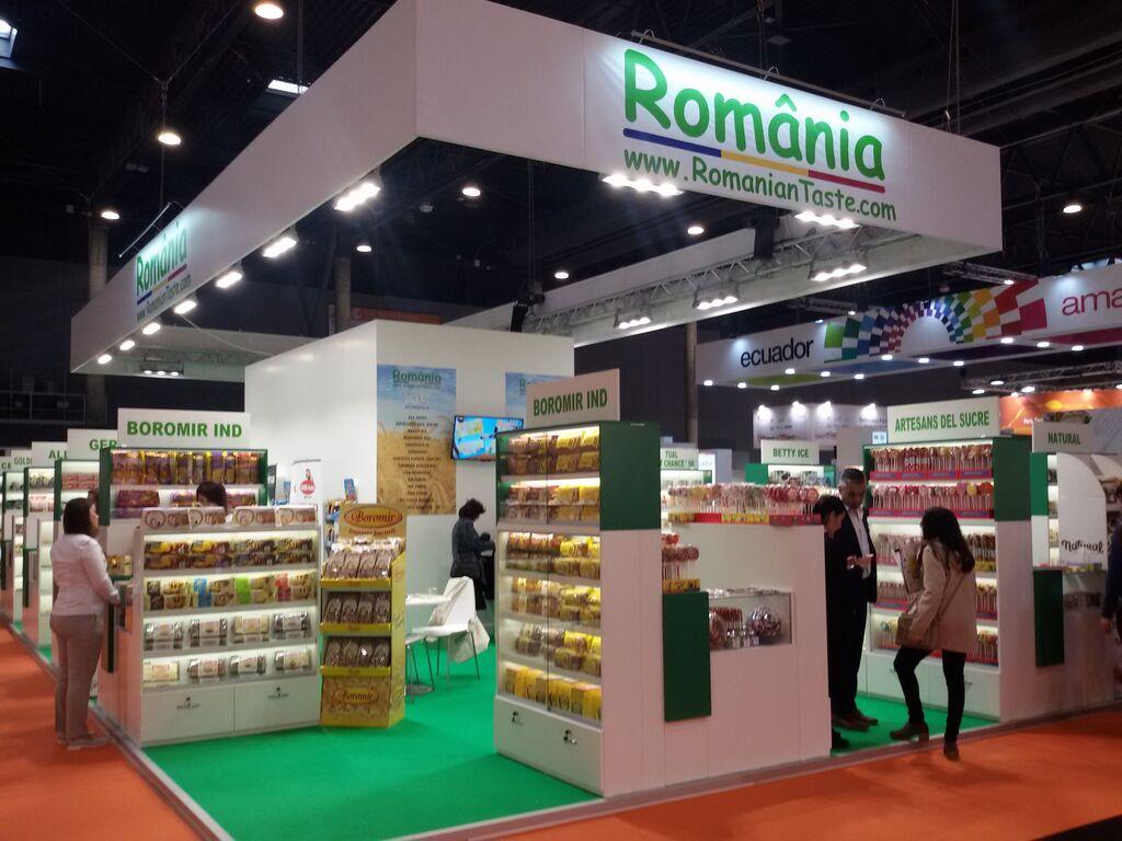 Rumanía estuvo presente en Alimentaria a lo grande
