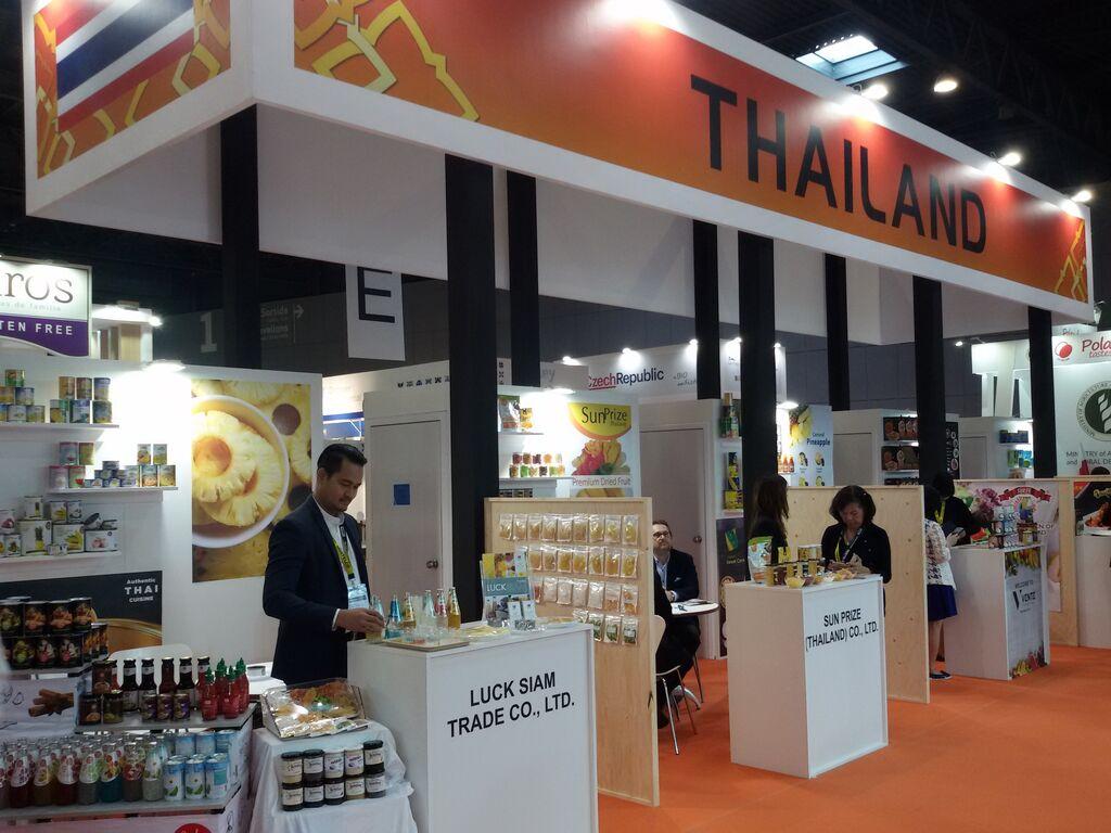 En Tailandia se podían probar sabores lejanos