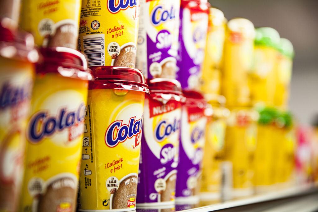 Varias referencias de ColaCao Shake,  fruto de la alianza entre Idilia Foods y Calidad Pascual