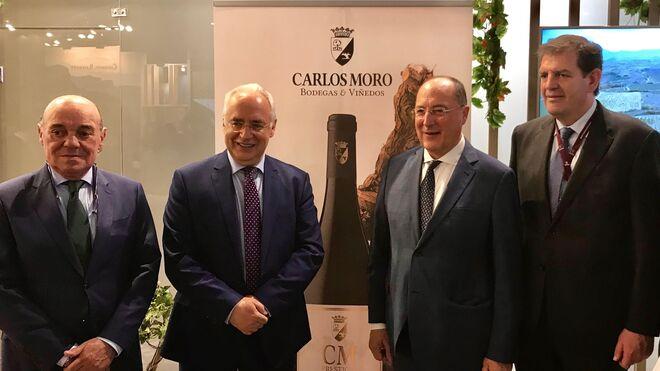 Carlos Moro, 65 cumpleaños y nuevo vino: CM Prestigio