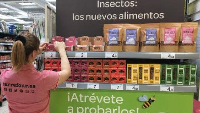 ¿Alimentos a base de insectos? Ya en Carrefour España