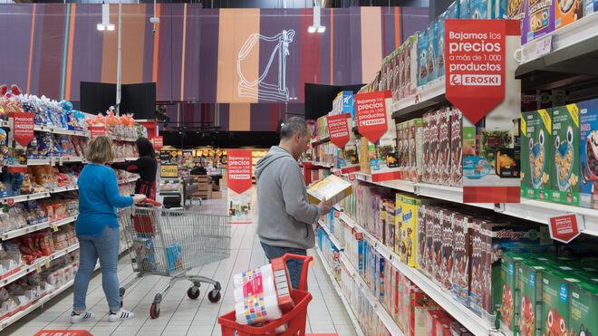 Eroski sigue bajando precios: turno para 1.000 productos