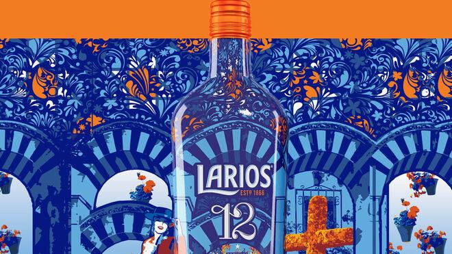 Larios 12 se 'viste' para celebrar el Mayo Cordobés
