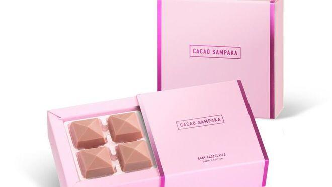 El chocolate Ruby se estrena en España con Cacao Sampaka