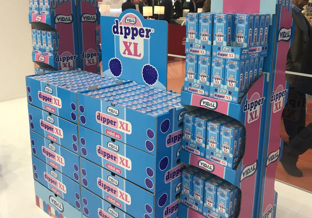 Los Dipper XL, producto estrella de Vidal Golosinas