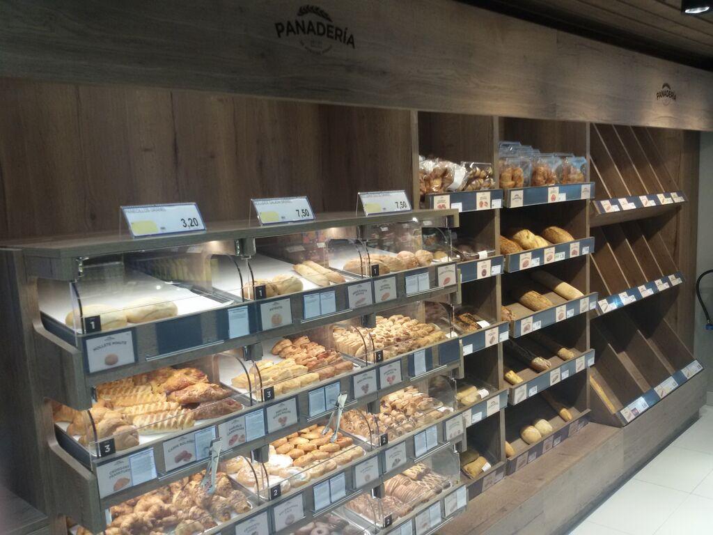 Zona de panadería y bolleria