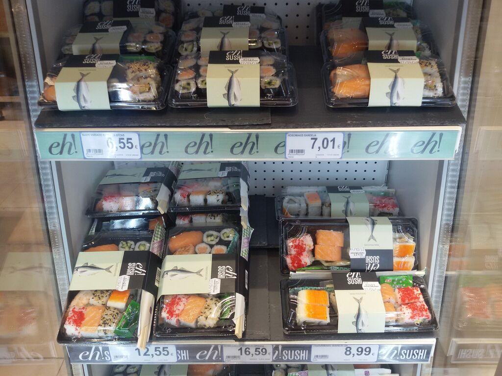 No podía falta un pequeño rincón para el sushi