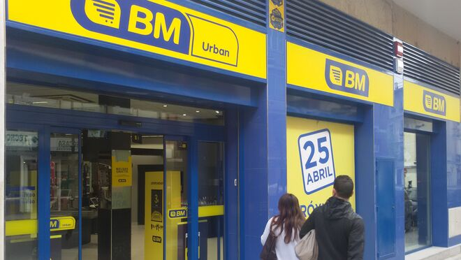 Así luce el primer supermercado BM de Madrid