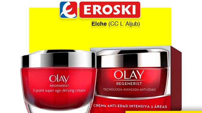 Eroski bromea sobre Cifuentes y sus famosas cremas Olay