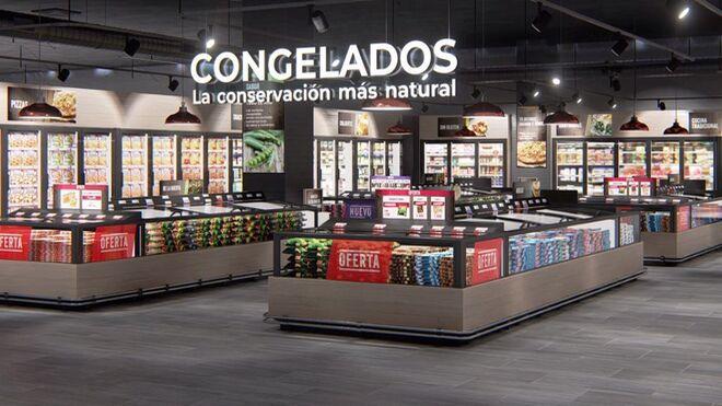 Así sería en un supermercado la sección ideal de los congelados