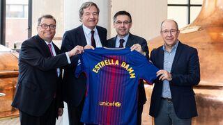 Estrella Damm renueva su acuerdo con el FC Barcelona
