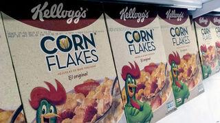 Kellogg reduce su beneficio en el tercer trimestre