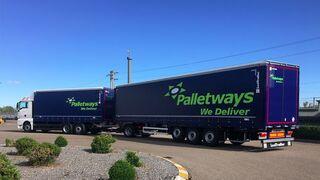 Otro 'monstruo' en la carretera de la mano de Palletways