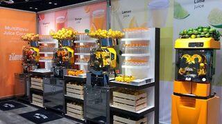 Zumex presenta en EE UU sus últimas innovaciones
