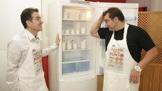 Andrés Ramos (ONCE) y el chef Sergio Fernández