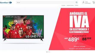 Promoción sin IVA de Carrefour