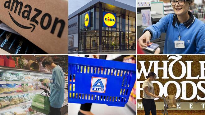 Los retailers más valiosos: Amazon, Alibaba, Aldi, Lidl...