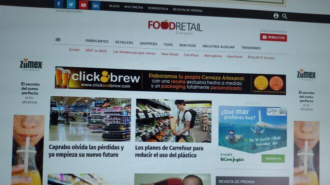 FoodRetail roza ya los 100.000 usuarios únicos mensuales