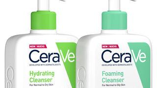 Limpiadora hidratante y gel de la gama CeraVe