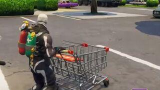 El carrito de supermercado provoca pasiones en Fortnite