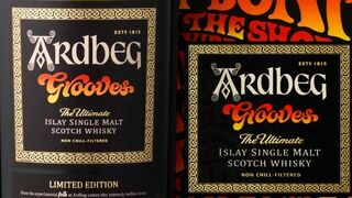 Ardberg lanza Grooves, su single malt más hippy
