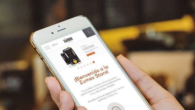 Zumex: a un clic de sus clientes en su nueva tienda online