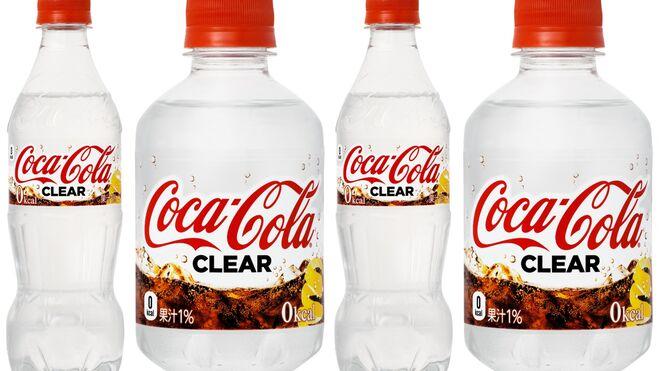Llega la primera Coca-Cola transparente de la historia