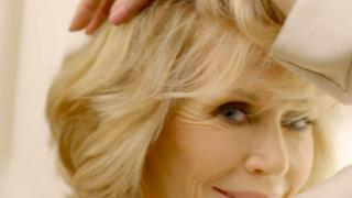 Jane Fonda, en un anuncio de L'Oréal