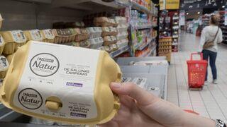 El 35% de huevos que vende Eroski son de gallinas libres