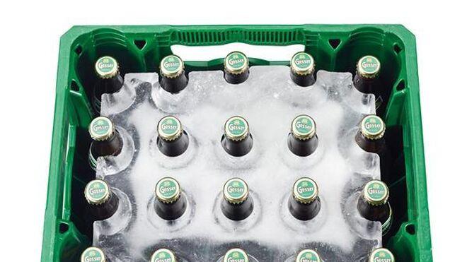El peculiar enfriador de cervezas de Interspar Austria