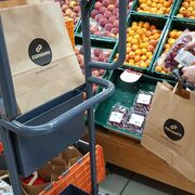 Consum elimina las bolsas de plástico de su tienda online