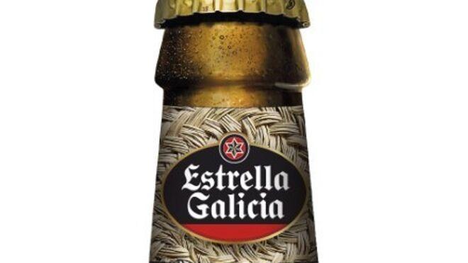 Estrella Galicia se 'viste' con esparto en Baleares