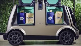 Los coches-robots llegan a los pedidos online de Kroger