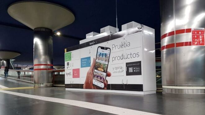 Las taquillas refrigeradas llegan al metro madrileño