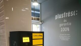 Plusfresc instala terminales CityPaq en tiendas de Lérida