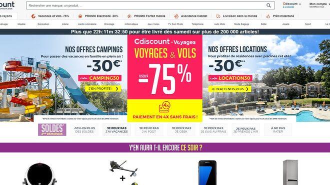 Casino estrena en España su ecommerce Cdiscount