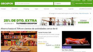 Groupon busca comprador y Alibaba está al acecho